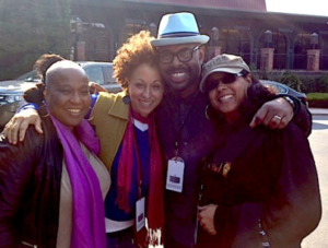 MJF Orchestra Background Vocalists with Music Director Christian McBride